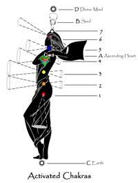 Chakra Balancing with Reiki - Activated Chakras