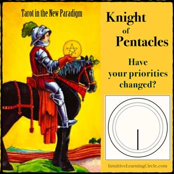 Repair Your Priorities with the Knight of Pentacles